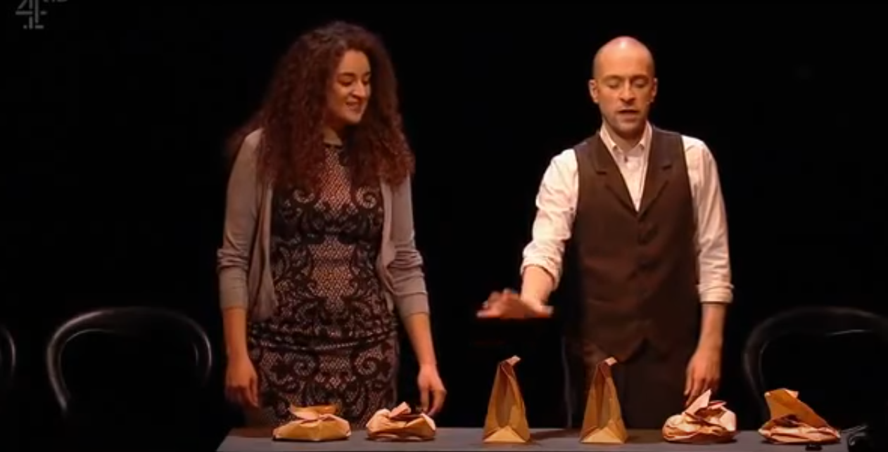 derren brown bags with nails